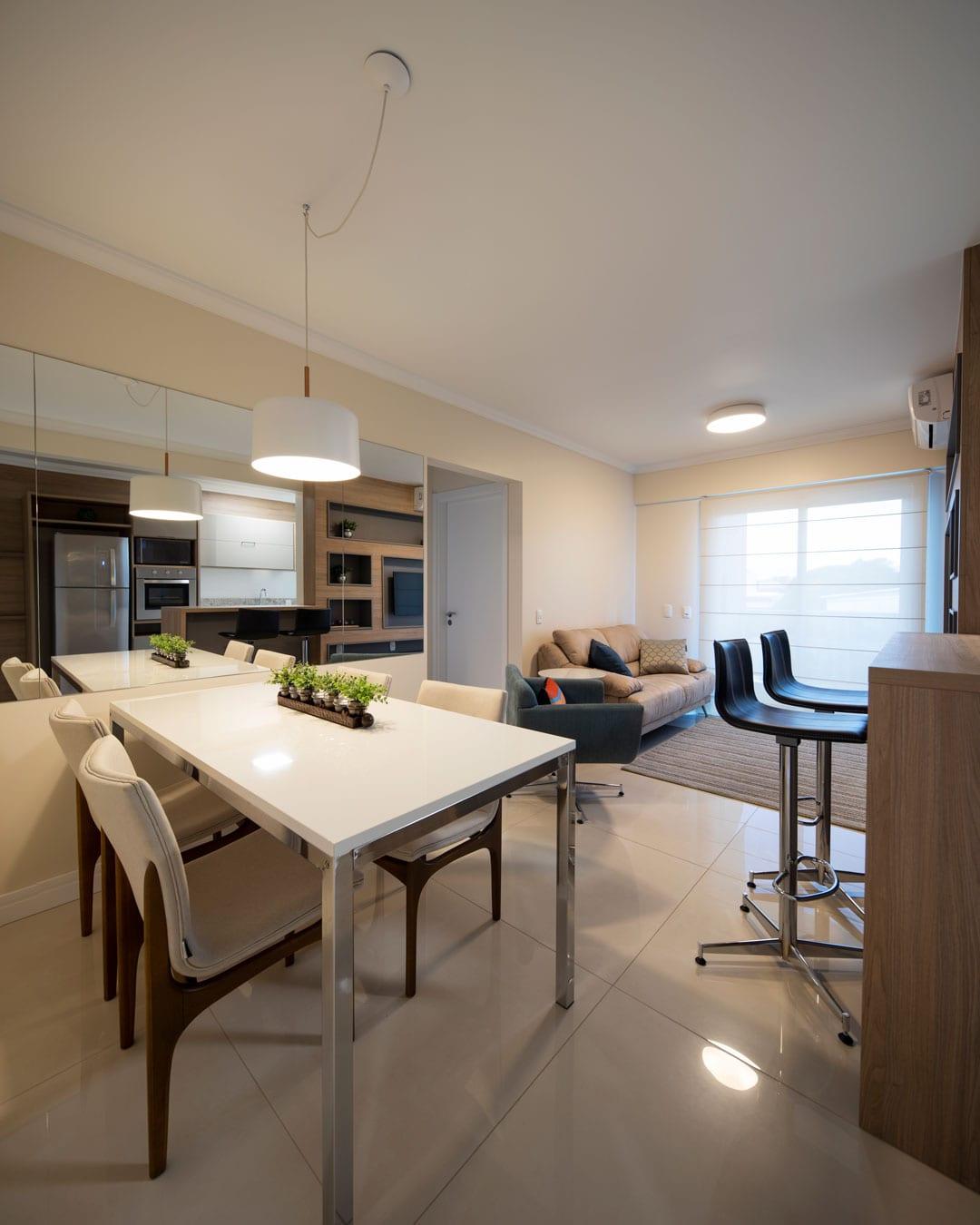 Diferenciais dos apartamentos